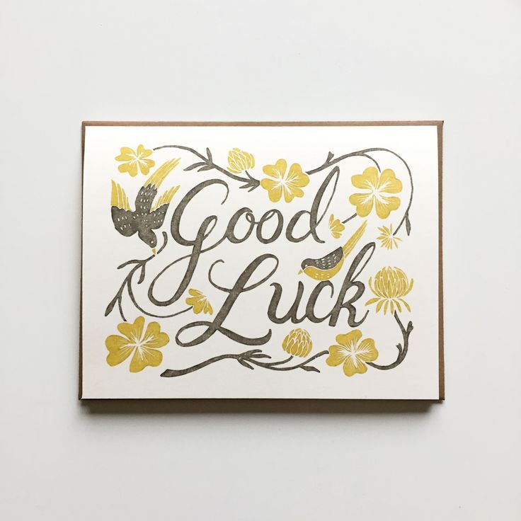 26 best FOLIO 2 \/\/ good luck images on Pinterest Good luck cards - good luck cards to print