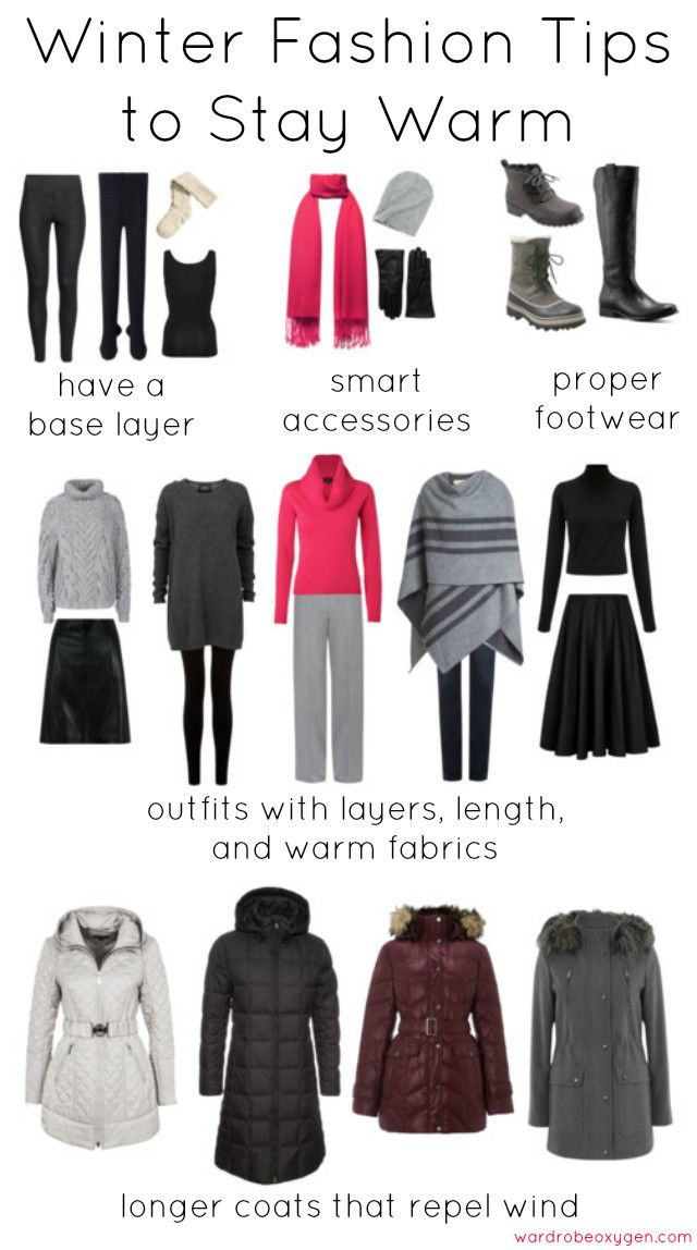 Winter style tips: how to stay fashionable while staying warm. Fashion advice for frigid temperatures, what to buy and wear to stay warm yet stylish.