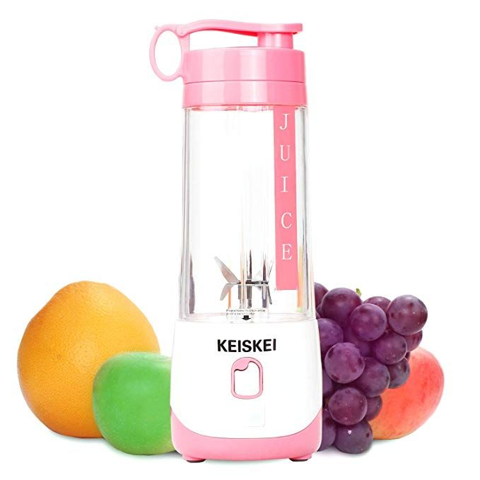 Portable USB Juicer Cup, Rechargeable Mini Vegetable Fruit
