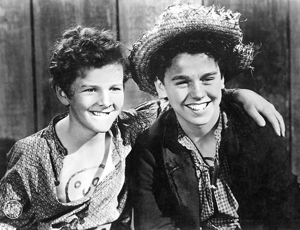 Tommy Kelly and Jackie Moran, Adventures of Tom Sawyer, 1938