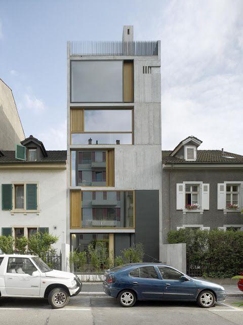 Buchner Bründler Architekten / neubau wohnhaus bläsiring / basilea