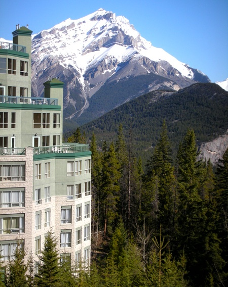 We're not going to pretend the view from the rooms at Rimrock Resort Hotel in Banff are anything but amazing. You should definitely not take our word for it though, go check it out!