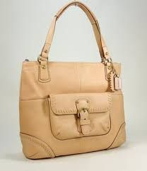 Image result for coach leather whip stitch tan handbag