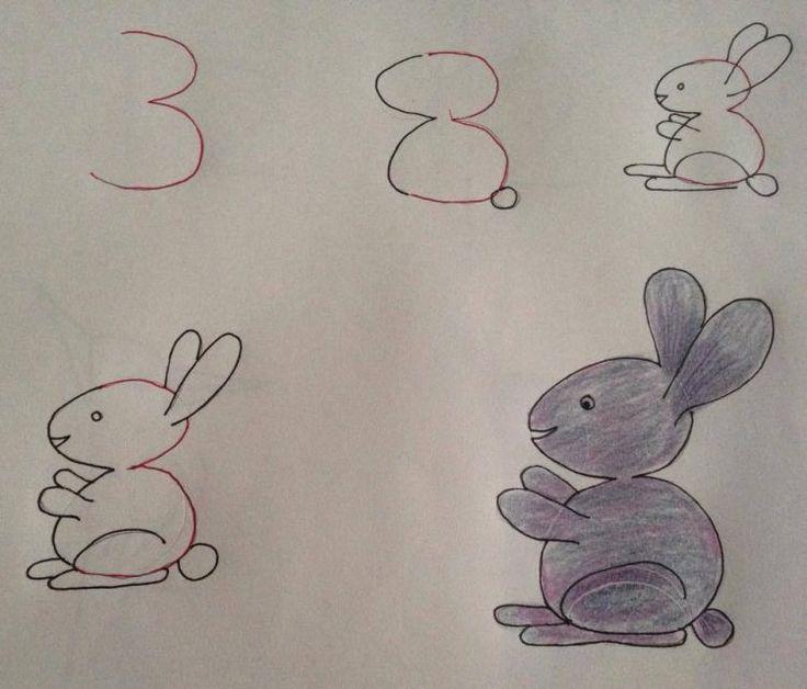 Lernen Sie den Kindern zeichnen. Die tollsten Zeichnungen die mit Zahlen…