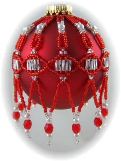 Matrix Ornament Cover Kit Red/Silver $18.00 (several other kits and patterns available)