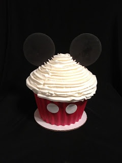 Mickey Mouse Smash Cake and this one for his smashing cake@Amber Quinn Cole