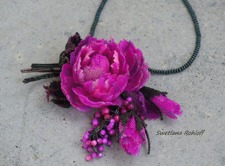 Роза цвета фуксии. Автор Светлана Ролофф Swetlana Rohloff