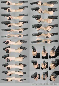 gun art reference