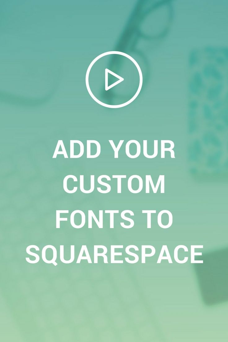 squarespace how to not show website