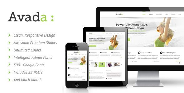 Avada, a Responsive Theme for $40. I think this one will suit what we want. It's super clean, and nice looking haha.