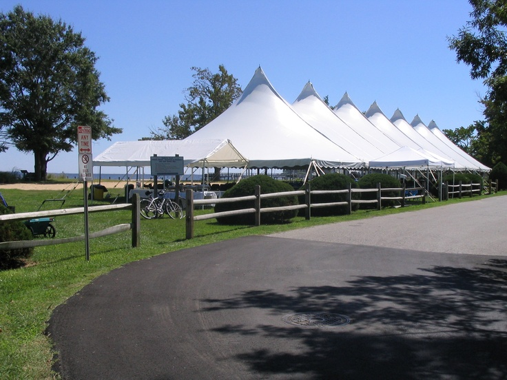 Century Tent by day