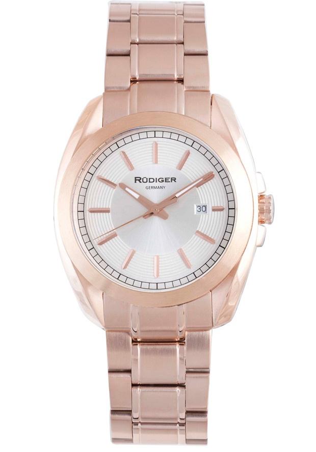 Price:$261.56 #watches Rudiger R1001-09-001, Rudiger Dresden Men's Round Silver Watch