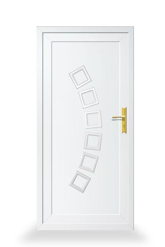 Camomille classic.  A műanyag ajtókat nagyon sokan szeretik, mert dekoratívak, könnyen tisztíthatók, és nagyon jól ellenállnak a környezeti hatásoknak.