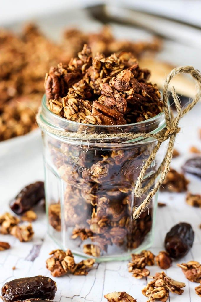 date sweetened breakfast healthy breakfast ideas dates full of granola ...