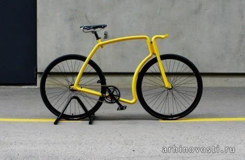 Изобретать велосипед глупо, но вот изобретать новую форму велосипеда – вполне интересный вариант. Так, владелец компании velonia эстонский дизайнер Индрек Наруск (Indrek Narusk) спроектировал очень необычную стильную раму для велосипеда с фиксированной передачей. Модель рамы получила название «Viks». Рама...