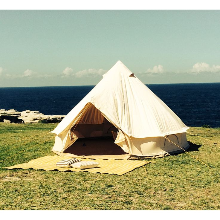 Breathe Bell Tent - 4 metre diameter   One person can put this up in just 10 minutes! Boho camping love!
