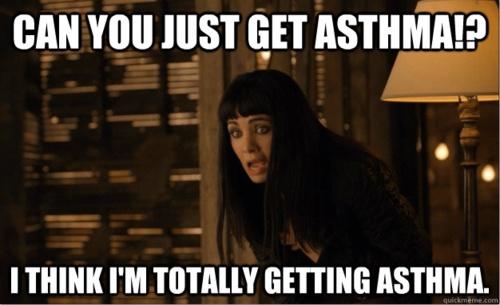 kenzi  can you get asthma??