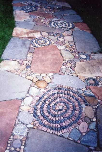 Stein-Mosaik...wenn man nur die Zeit hätte