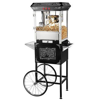 Great Northern Popcorn 8 Oz. Popcorn Popper Machine & Cart & Reviews | Wayfair
