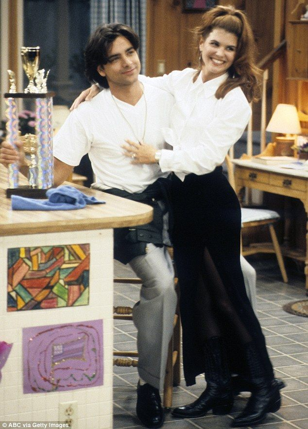 John Stamos and Lori Loughlin as Jesse & Rebecca from Full House (1987-1995)