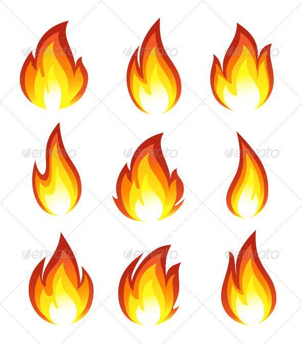 Fire Icons - Vectors