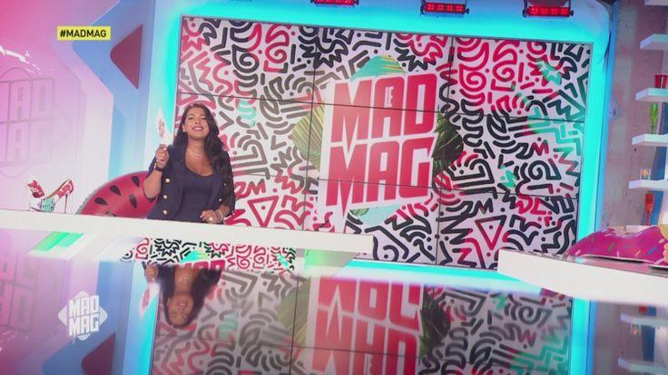 Alrima dans le Mad Mag sur NRJ 12 le 23 juin 2017