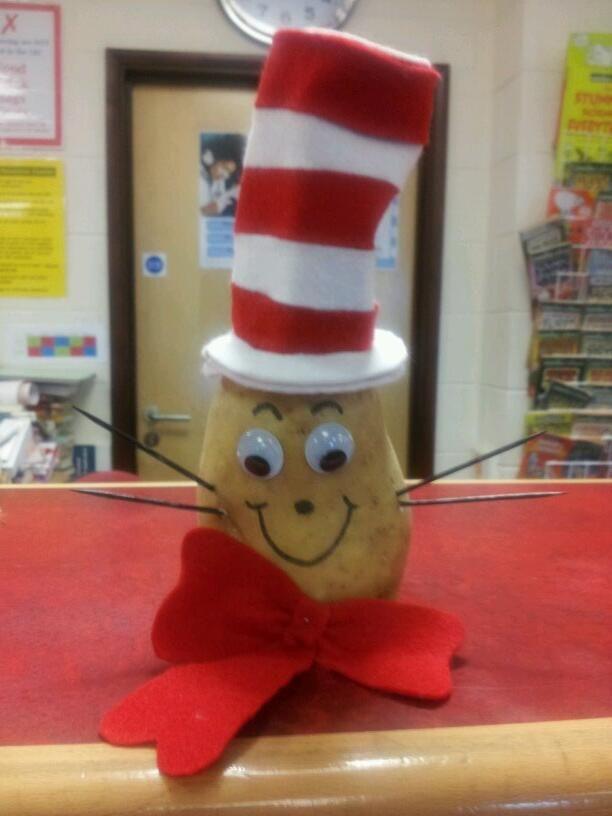 Cat in the Hat potato