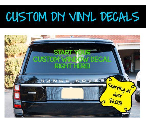 Best  Custom Window Decals Ideas On Pinterest Custom Window - Custom vinyl window decals vehicles