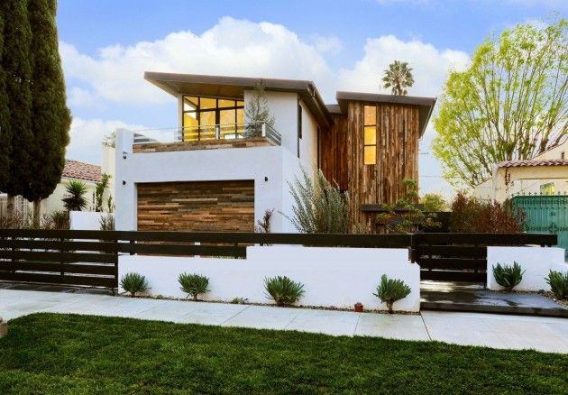 Amit Apel has designed 355 Mansfield, a family home in Los Angeles, California.