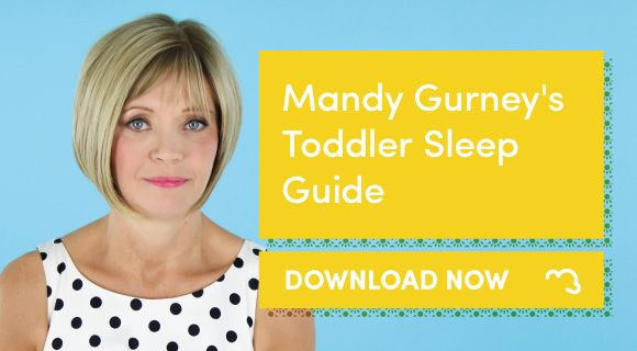 Download our free Ready for Bed? Toddler Sleep Advice by Mandy Gurney