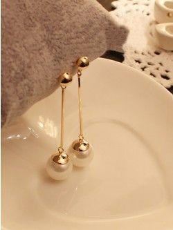 Princess Pearl Drop Earrings