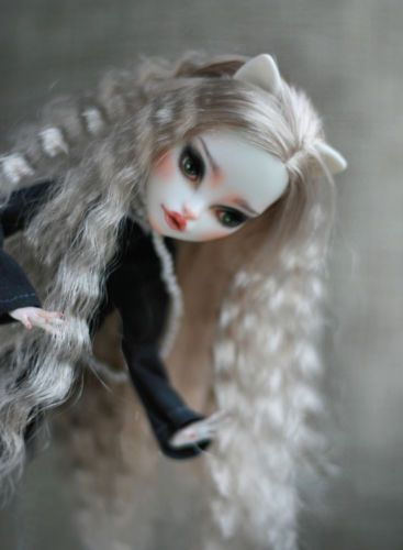 OOAK MONSTER HIGH Catrine DeMew repaint reroot custom doll by LadyVerrin