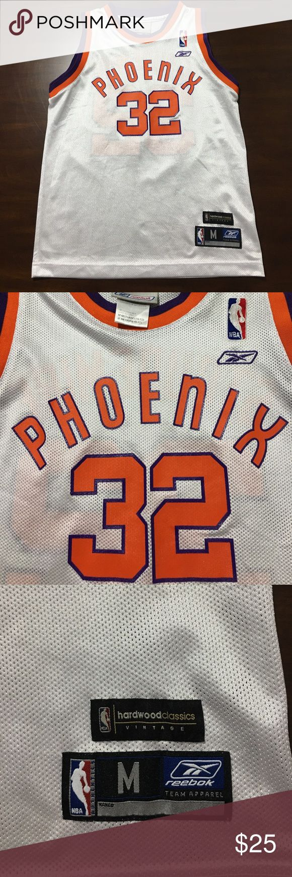 Amare Stoudemire Phoenix Suns Throwback Jersey Suns Stoudemire throwback in size kids M. Reebok Shirts & Tops Tank Tops