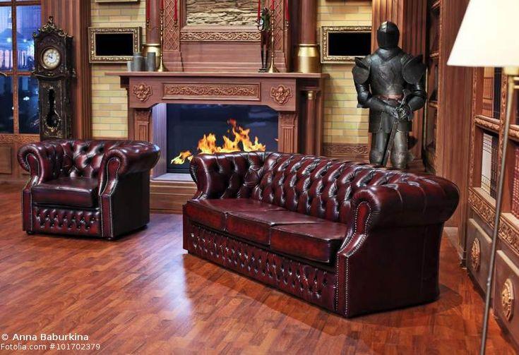 Sofa britischer Stil Chesterfield