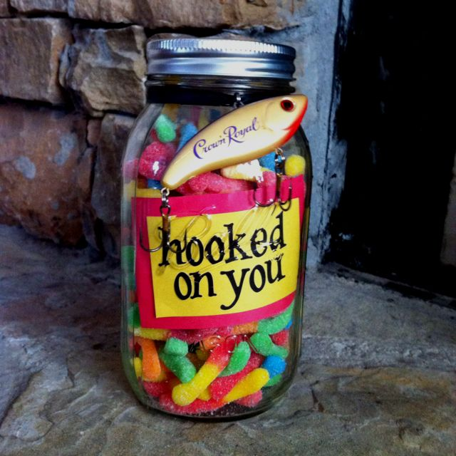 Cheap & cute valentine idea! Hooked on you!