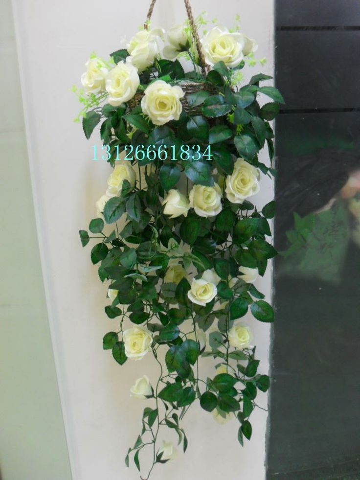 Hanging flower baskets on wall : Best images about flower hanging baskets on