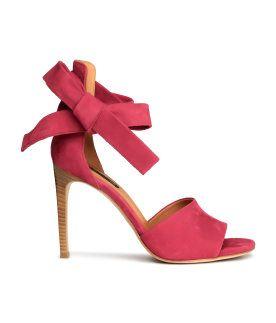 H&M, Suede sandals.  R1,199 http://www.hm.com/za