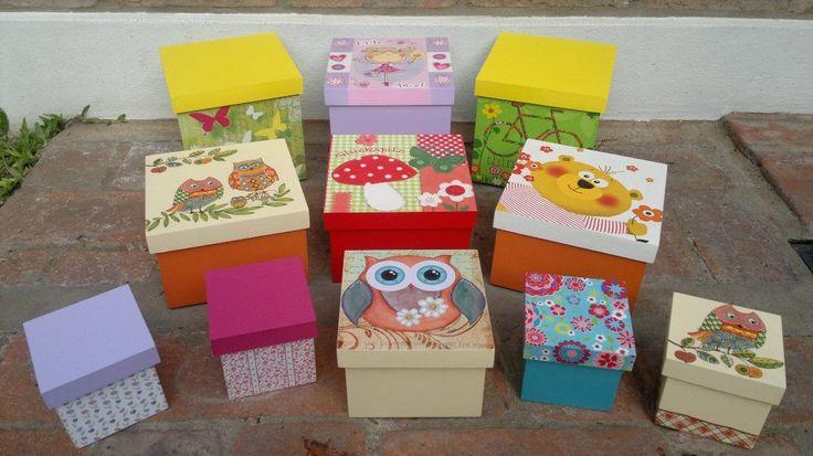 Cajas decoradas tecnica vintage buscar con google cajas decoradas pinterest vintage and - Cajas grandes de carton decoradas ...