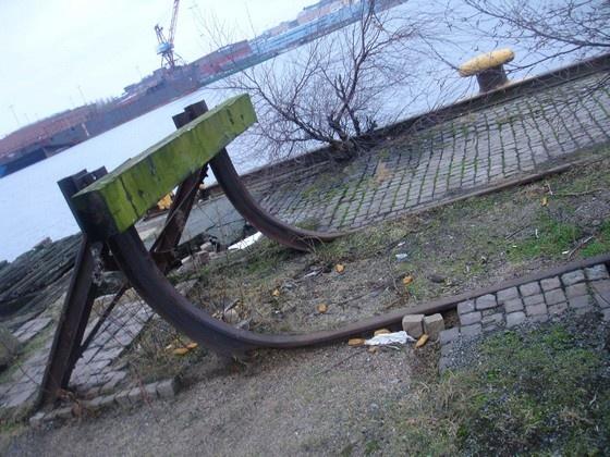 Övergivna platser - Göteborgs hamn