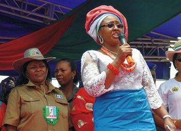 Aisha Buhari 1st lady of Nigeria