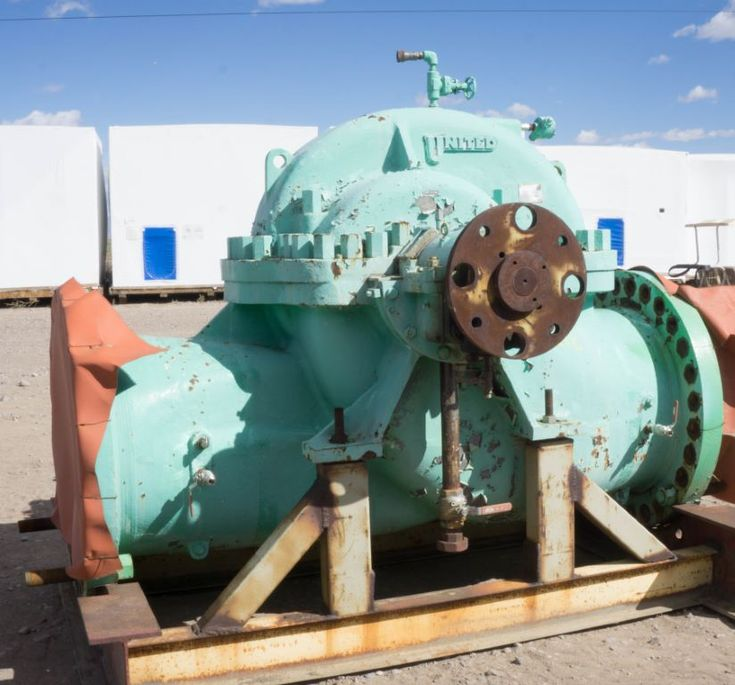 Used United 30x29 DVS Horizontal Single-Stage Centrifugal Pump For Sale - Stock No 59212