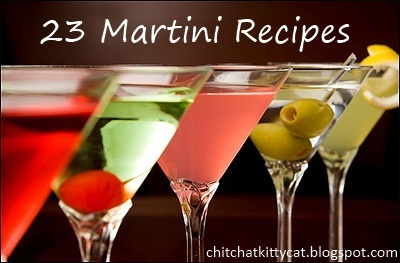 23 Martini Recipes! Get the best martini recipes to ever exist all in one spot! Hello, Happy-Hour & cocktail parties!