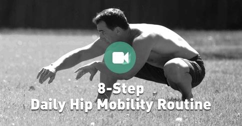 Hip flexibility helps ensure your hips stay functional & healthy. Here are 8 exercises to loosen up your hips.