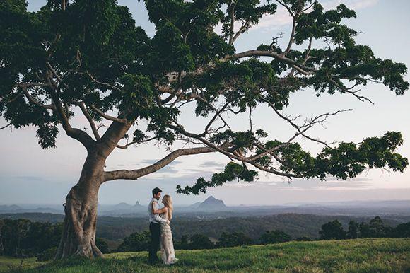 Gorgeous wedding photos in the Australian outback!
