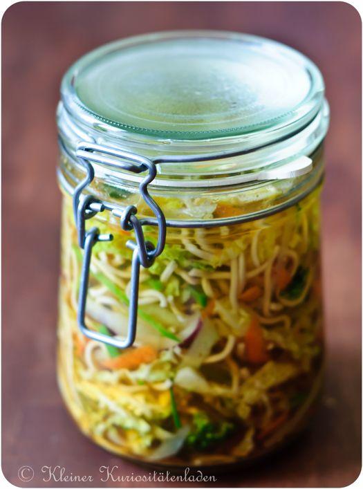Soup-to-go: Die 10 Minuten-Terrine ... Schnell vorbereitet & noch schneller zubereitet