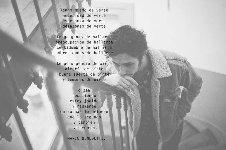 Mario Benedetti, poesía, Uruguay, Generación del 45, México, viceversa, amor, UNAM