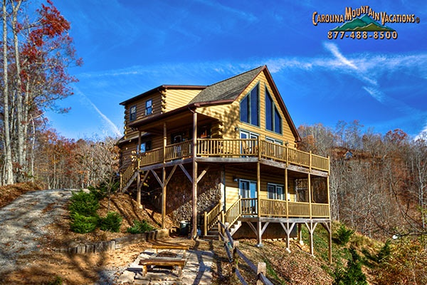 NC Cabin Rentals in the Bryson City, Cherokee and Nantahala areas of the Smoky Mountains by Carolina Mountain Vacations; official home page