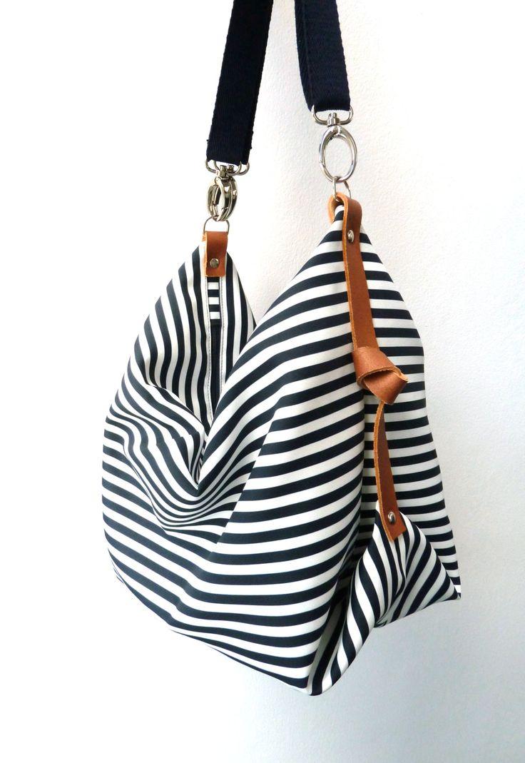 Maxi Bag messenger bag diaper bag Marina Navy by marabaradesign, €59.50