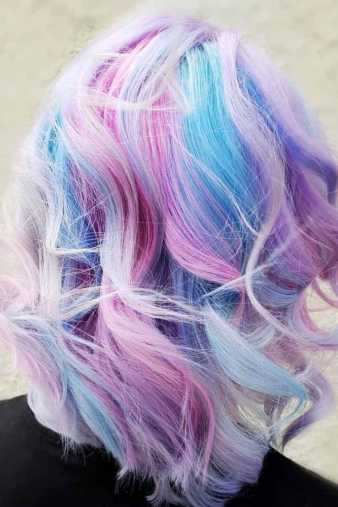 24 Blue And Purple Hair Looks That Will Amaze You Blue Purple