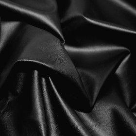 Leather Fabric Black